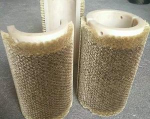 生产金属钢丝毛刷辊加