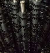 异形螺旋毛刷